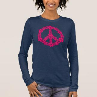 Camiseta Manga Longa PEACE SÍMBOLO - signo de paz, símbolo liberdade