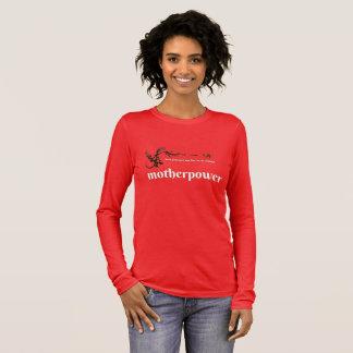 Camiseta Manga Longa poder da mãe
