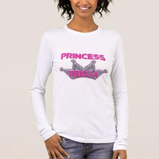 Camiseta Manga Longa Princesa Rebecca