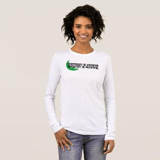 Camiseta Manga Longa Ramadan está vindo! T-shirt das mulheres