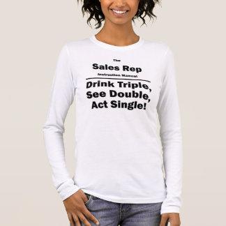 Camiseta Manga Longa Representante das vendas