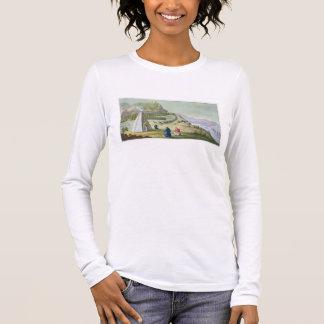 Camiseta Manga Longa Reunindo a rena, Lapland, chapeia 47 'de Le Costu