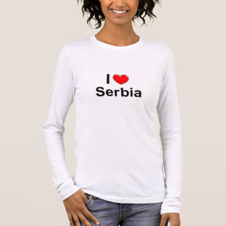 Camiseta Manga Longa Serbia