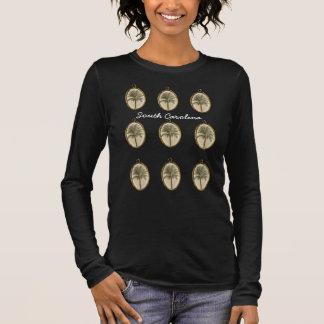 Camiseta Manga Longa South Carolina - t-shirt do desenhista