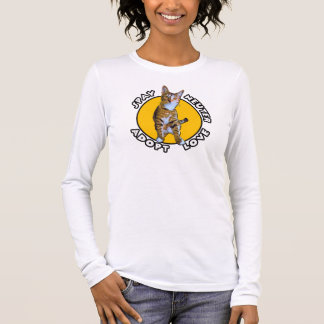 Camiseta Manga Longa Spay o neutro adotam o amor