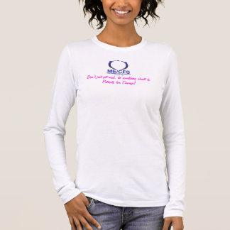 Camiseta Manga Longa T do LS das senhoras de MCWPA com da mensagem