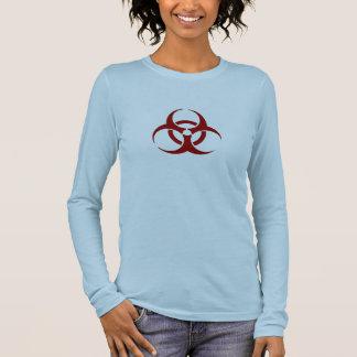 Camiseta Manga Longa T Longsleeved do Biohazard