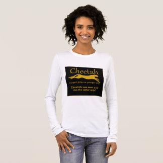 Camiseta Manga Longa T-shirt das mulheres da chita