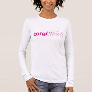 Camiseta Manga Longa T-shirt do Longsleeve das mulheres da mamã do