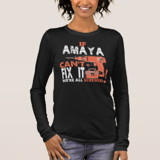 Camiseta Manga Longa T-shirt legal para AMAYA