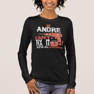 Camiseta Manga Longa T-shirt legal para ANDRE