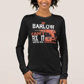 Camiseta Manga Longa T-shirt legal para BARLOW
