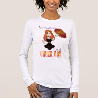 Camiseta Manga Longa T-shirt longo da luva da mamã do elogio de Burbank
