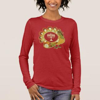 Camiseta Manga Longa Turquia decorativa Menorah