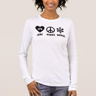 Camiseta Manga Longa Uma paz LPN do amor