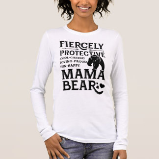 Camiseta Manga Longa urso do mama