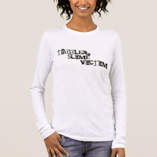 Camiseta Manga Longa Vítima do limo da criança