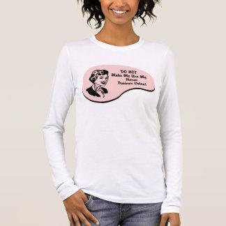 Camiseta Manga Longa Voz do instrutor de cavalo