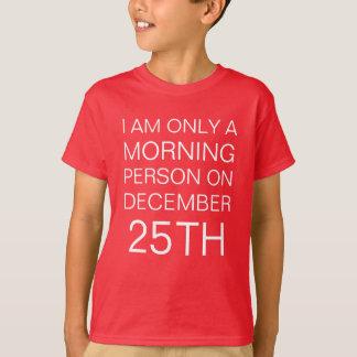 Camiseta Manhã de Natal