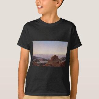 Camiseta Manhã em Riesengebirge - Caspar David Friedrich