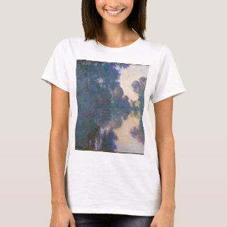 Camiseta Manhã no Seine perto de Giverny - Claude Monet.j
