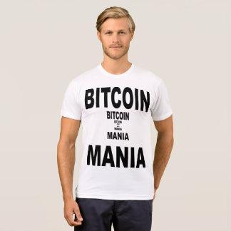 Camiseta Mania de Bitcoin