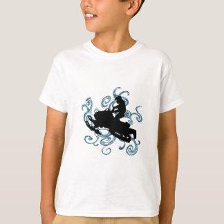 Camiseta Mania do móbil da neve