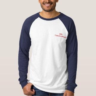Camiseta Maniche do spalle de CapoeiraNapoli do logotipo