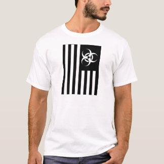 Camiseta Manifestação biológica da bandeira negra -