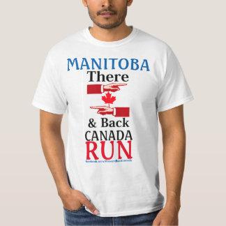 Camiseta Manitoba lá & tanque traseiro de Canadá