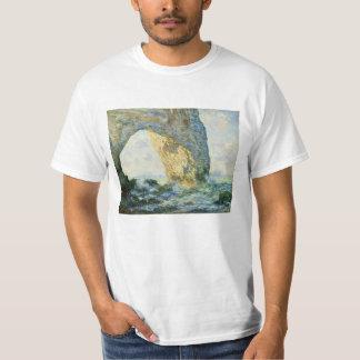 Camiseta Manneporte, arco Étretat da rocha (Normandy) -