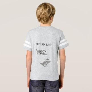 Camiseta Manta-raios da VIDA do OCEANO