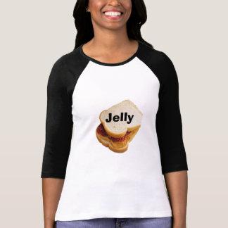 Camiseta manteiga e geléia de amendoim!