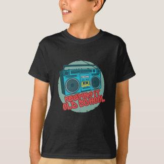 Camiseta Mantendo o velha escola