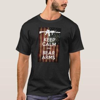 Camiseta Mantenha a calma!!!