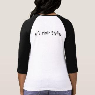 Camiseta Mantenha a calma e ame o Hairstylist #1