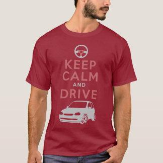 Camiseta Mantenha a calma e conduza - Corsa- /version5