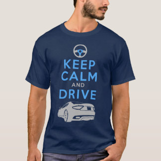 Camiseta Mantenha a calma e conduza - GranTurismo-