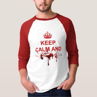 Camiseta Mantenha a calma e o AUGH!
