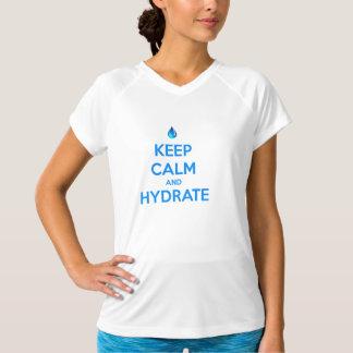 Camiseta Mantenha a calma e o hidrato