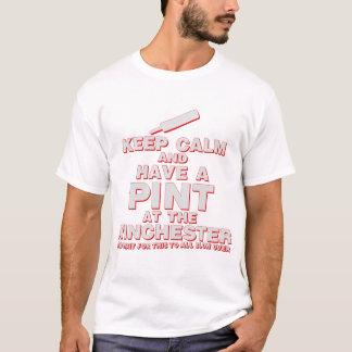 Camiseta Mantenha a calma e tenha uma pinta - zombis