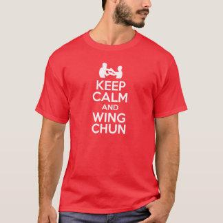Camiseta Mantenha a calma e voe Chun!!!