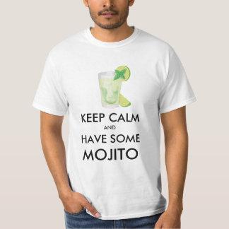 Camiseta Mantenha a calma - Mojito