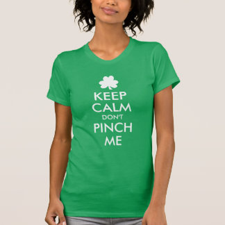 Camiseta Mantenha a calma não me comprimem