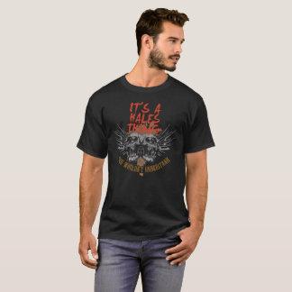 Camiseta Mantenha a calma porque seu nome é HALES.