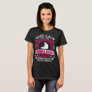 Camiseta Mantenha a calma que eu sou a senhora Himalaia
