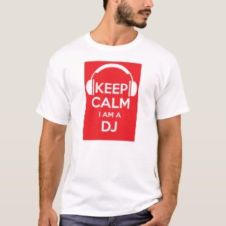 Camiseta Mantenha a calma que eu sou um t-shirt do