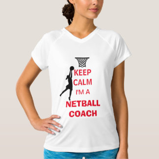 Camiseta Mantenha a calma que eu sou um treinador do