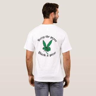 Camiseta Mantenha a paz