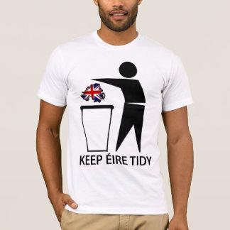 Camiseta Mantenha Eire arrumado